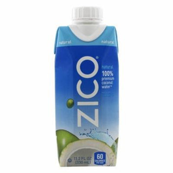 Zico - Pure Premium Coconut Water Natural - 11.2 oz(pack of 4)