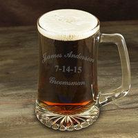 Personalized Groomsman Sports Mug