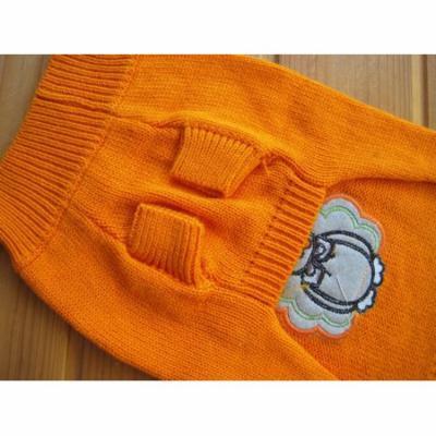 Mosunx Christmas Snowman Pet Dog Puppy High Collar Warm Clothes Outwear Sweater M