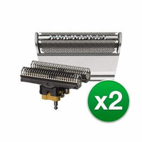 Braun 31S Replacement Foil & Cutter for 5897 Shaver Model (2 Pack)