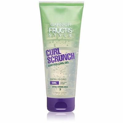 3 Pack Garnier Fructis Style Curl Scrunch Controlling Gel Curly 6.8oz Each