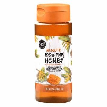 Sam's Choice 100% Raw Honey, Mesquite, 11 oz