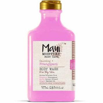 Maui Moisture Body Wash Frangipani For Dry Skin