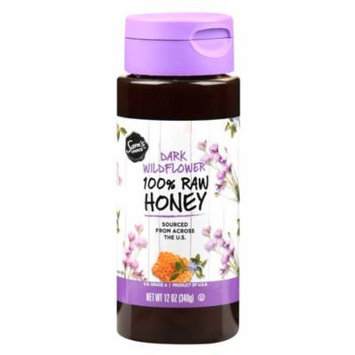 Sam's Choice 100% Raw Honey, Dark Wildflower, 12 oz