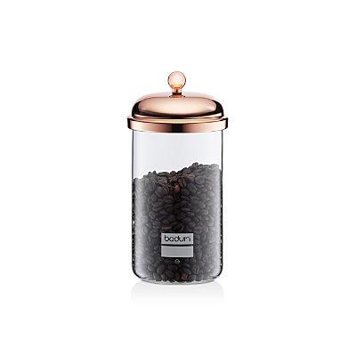 Bodum Chambord Classic Storage Jar, 34 oz, Copper