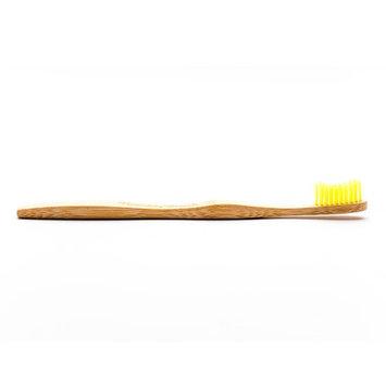 Humble Brush Adult Toothbrush, Yellow, Soft