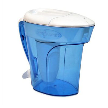ZeroWater 12-Cup Ready-Pour Filtration Pitcher, Blue