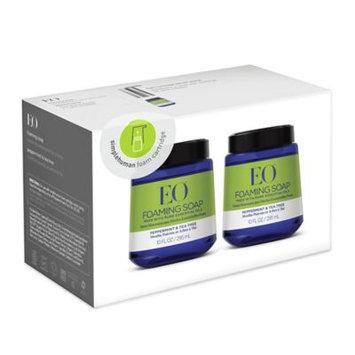 EO® 2-Pack Foam Hand Soap Cartridge 10 oz. in Peppermint Tea Tree