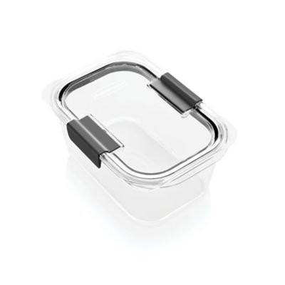 Rubbermaid® Brilliance™ 4.7-Cup Medium Deep Food Storage Container