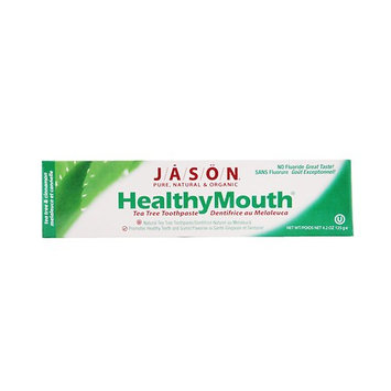 JASON Healthy Mouth Toothpaste Tea Tree & Cinnamon 4.2 oz.