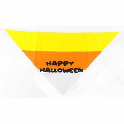 Candy Corn Halloween Dog Bandana by Midlee (Small)