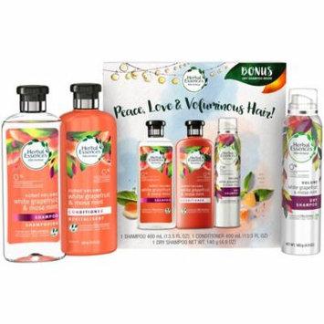 Herbal Essences® Bio:renew White Grapefruit & Mosa Mint Volume Shampoo + Conditioner + Dry Shampoo Holiday Pack