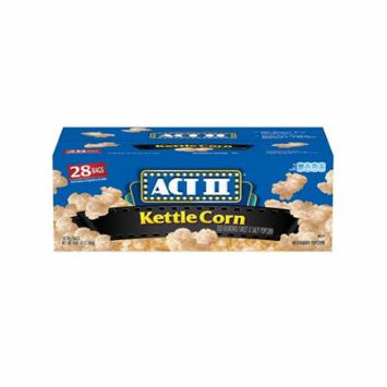 ACT II Kettle Corn Microwave Bags (28 ct.)- Pack of 2