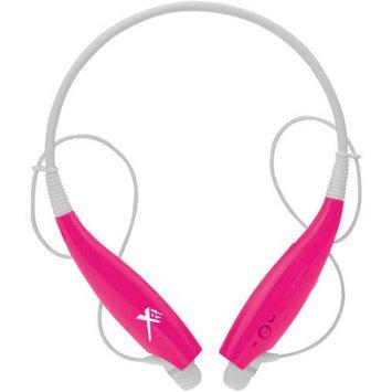 Xit AXTBTHSBPK Sound Band Bluetooth Neck Headphones - Pink