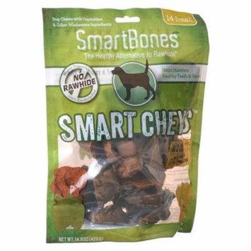 SmartBones Safari Smart Chews Small - 14 Pack - Pack of 4