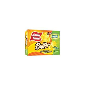 Jolly Time Microwave Popcorn Butter (Pack of 6)