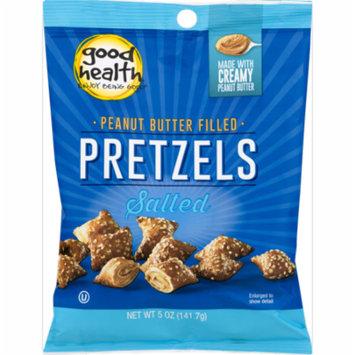 Good Health Peanut Butter Filled Salted Pretzels 5 oz. Bags (3 Bags)