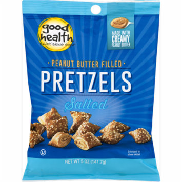Good Health Peanut Butter Filled Salted Pretzels 5 oz. Bags (4 Bags)