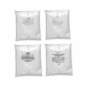 French Vanilla Cappuccino, Hot Chocolate, English Toffee, White Chocolate Caramel Cappuccino (4 bags)