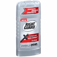 Right Guard Xtreme Odor Combat Surge Invisible Solid Antiperspirant and Deodorant (Pack of 2)