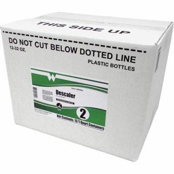 Maintex Descaler Cleaner - Liquid - 0.25 gal (32 fl oz) - Bottle - 12 / Carton - Yellow