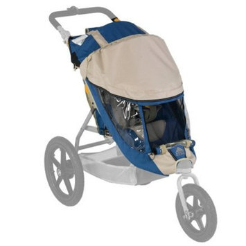 Kelty Speedster Swivel Stroller Weather Shield Blue, Swivel Single
