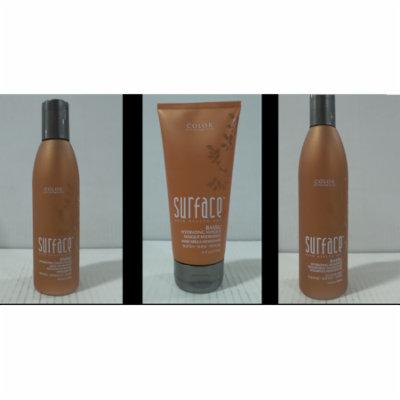 Surface Bassu Hydrating Shampoo, 10 oz & Conditioner, 6 oz & Masque, 6 oz Set