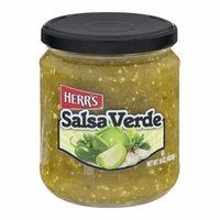 Herr's Salsa Verde 16 oz Glass Jars - Pack of 6