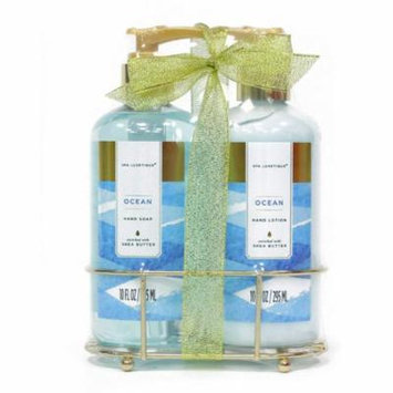 Ocean hand lotion and hand soap gift set