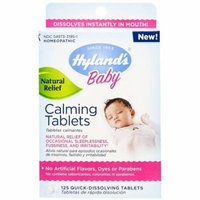 4 Pack - Hyland's Baby Calming Tablets, Natural Symptom Relief 125 ea