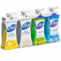 Dial Complete Foaming Hand Wash, Variety Pack of 4 Flavors