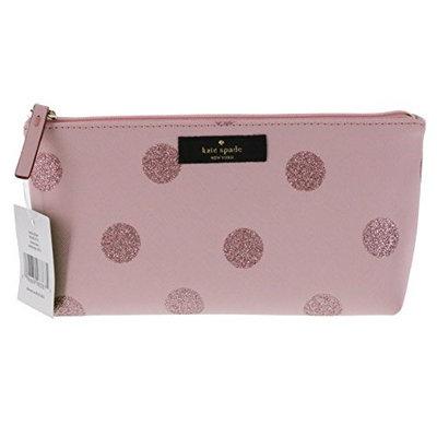 Kate Spade New York Haven Lane Little Shiloh Cosmetics Make-Up Travel Case (Light Pink)