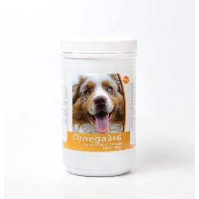 Healthy Breeds 840235143062 Australian Shepherd Omega 3 & 6 Soft Chews - 120 count