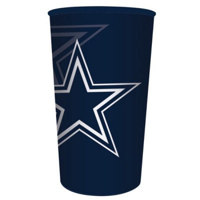 Hoffmaster Group 119509 20 by 1 Count Dallas Cowboys 22 oz Plastic Favor Cup - Case of 20
