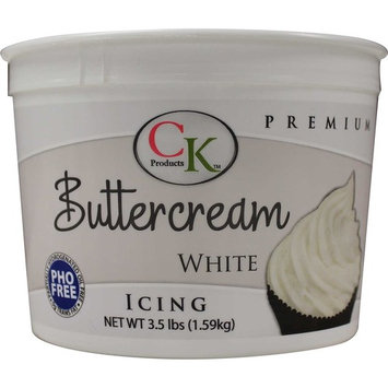 CK Products 77-800 PHO Free Buttercream Icing, 3.5 lb, White