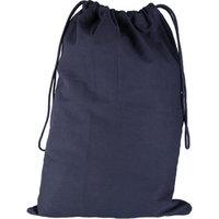 Canvas Laundry Bag, Black, 18
