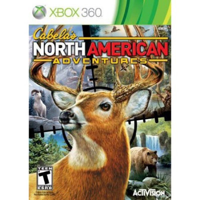 Activision Cabelas North American Adventures 2011 First Person Shooter - Complete Product - Standard - Retail - Xbox 360 (76428)