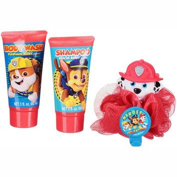 Nickelodeon Paw Patrol Soap & Scrub Shampoo and Body Wash Bath Set, 4pcs