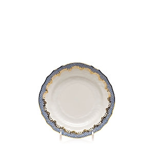 Herend Fishscale Light Blue Bread & Butter Plate