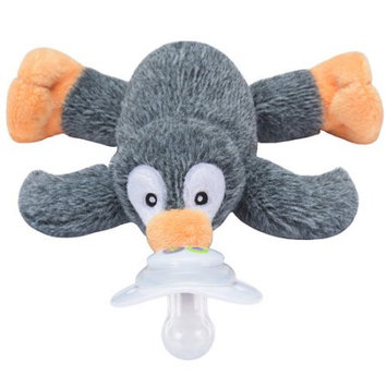 Nookums Paci-Plushies Buddies, Pepper Penguin Pacifier Holder