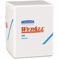 6 Pack - WypAll X60 Task Wipe Light Duty White NonSterile Hydroknit 10 X 1212