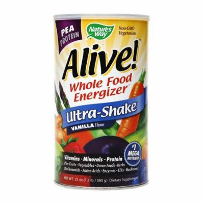 Nature's Way Alive! Whole Food Energizer Pea Protein Vanilla21.0 oz.(pack of 1)