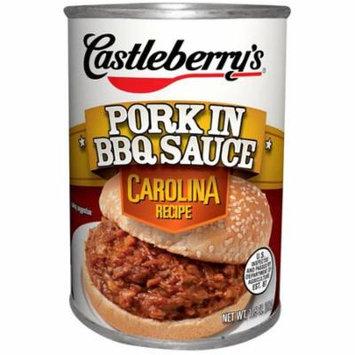 (3 Pack) Castleberry's Carolina Recipe Pork in BBQ Sauce, 10.5 oz