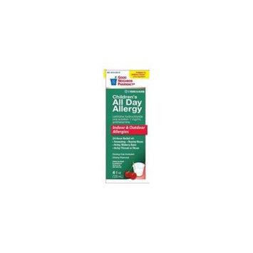 GNP Children's All Day Allergy Cetirizine Hydrochloride 1mg Antihistamine 4 oz
