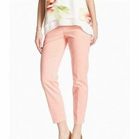 Philosophy NEW Pink Women's 8 Career Dress Crop Ankle Pants Stretch
