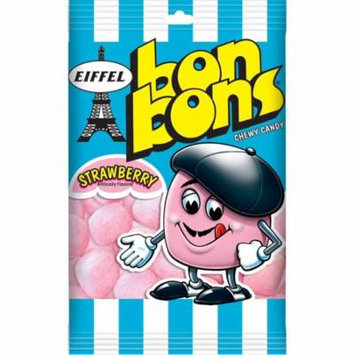 Eiffel Foreign Bon Bons Strawberry Chewy Candy Case 4oz (PACK OF 12)