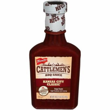 (3 Pack) Cattlemen's Kansas City Classic BBQ Sauce, 18 oz