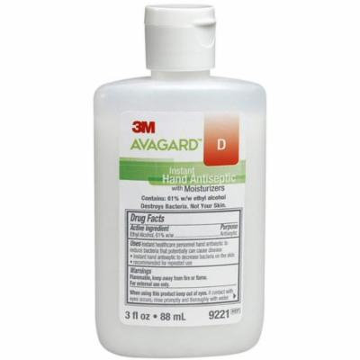 2 Pack - 3M Healthcare Avagard D Instant Hand Antiseptic with Moisturizers 3 oz