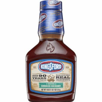 (2 Pack) Kingsford BBQ Sauce, Original Smoked Hickory, 18 oz