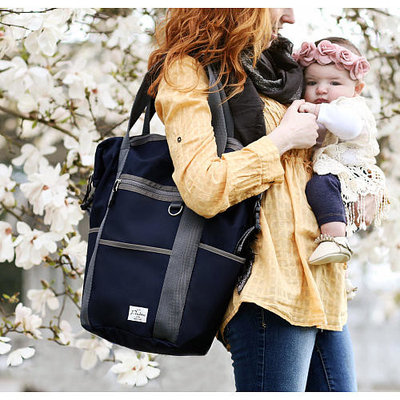 THEA THEA Packers Backpack Diaper Bag - Navy